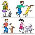 Cartoon Kids with Pets/eps