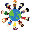 Cartoon Kids Unity Royalty Free Stock Photo