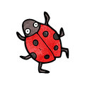 Cartoon ladybug Royalty Free Stock Images