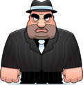 Cartoon Mobster Royalty Free Stock Photos