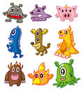Cartoon Monster Stock Image