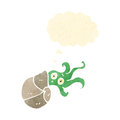 Cartoon nautilus squid Royalty Free Stock Photography