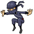 Cartoon ninja vector illustration of Stock Images