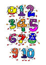Cartoon number.