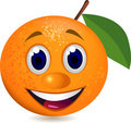Cartoon orange Stock Images