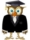 Cartoon owl Royalty Free Stock Photography