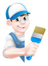 Cartoon Painter Decorator