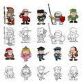 Cartoon People Set