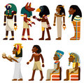 Cartoon pharaoh icon Royalty Free Stock Photo