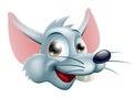 Cartoon Rat Face