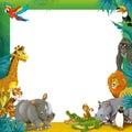 Cartoon Safari - Jungle - Fram...