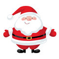 Cartoon Santa Claus Stock Image