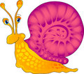 Cartoon snail Stock Photos