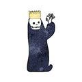 cartoon spooky ghoul Royalty Free Stock Photo