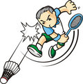 Cartoon sport Royalty Free Stock Images