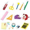Cartoon Stationery icon Stock Photography