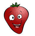 Cartoon Strawberry Stock Photo