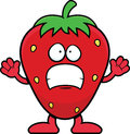 Cartoon Strawberry Scared