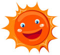 Cartoon sun Stock Photo