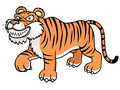 Cartoon tiger Stock Photo