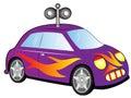 Cartoon Toy Car