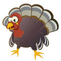 Cartoon turkey Royalty Free Stock Photo