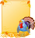 Cartoon Turkey Banner Stock Photography