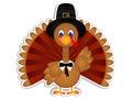 Cartoon Turkey Clipart