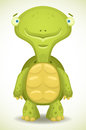 Cartoon Turtle Stock Image