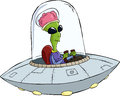 Cartoon UFO Stock Images