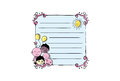 Cartoon Vector Memo, Cards, Notes, Stickers, Labels, Tags