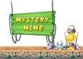 Cartoon Vector Mine Game Objec...