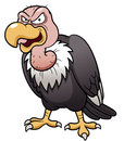 Cartoon vulture Stock Image