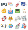 Cartoon web icon Royalty Free Stock Photos