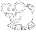 Cartoon Wild Animal - Coloring...