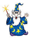Cartoon wizard man Royalty Free Stock Images