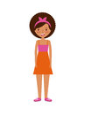 Cartoon young girl