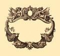 Cartouche Royalty Free Stock Photo