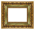 Carved frame Stock Photography