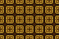 Carved golden ornament seamless pattern texture image of Stock Photography