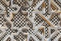 Carved Screen Royalty Free Stock Photo