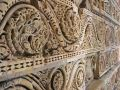 Carved stone in Delhi Stock Photography