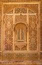 Carved window in mandir palace jaisalmer rajasthan india Stock Image