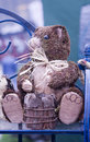 Carved wooden bear Royalty Free Stock Photography