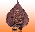 The Carving wood of ganesha Stock Photos