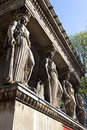 The Caryatids at St Pancras Parish Church Royalty Free Stock Images