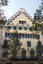 Casa amatller padeiro em barcelona Fotografia de Stock