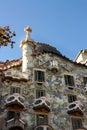 Casa Batlló, by Gaudí. Barcelona Stock Images