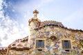 Casa Batllo by Antoni Gaudi in Barcelona, Spain Royalty Free Stock Photo