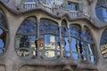 Casa batllo in barcelona antonio gaudi s batlló spain Royalty Free Stock Photos